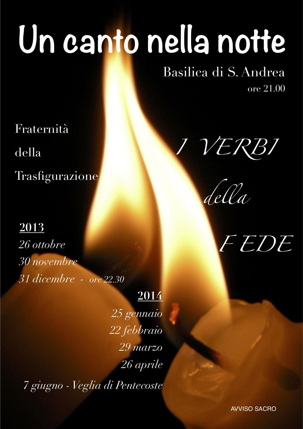 Un canto nella notte 2013-14